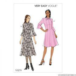 Patron Vogue V9279 : Robe