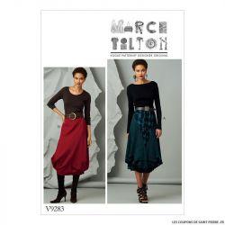 Patron Vogue V9283 : Jupe