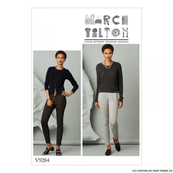 Patron Vogue V9284 : Pantalon