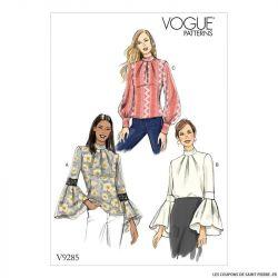 Patron Vogue V9285 : Haut