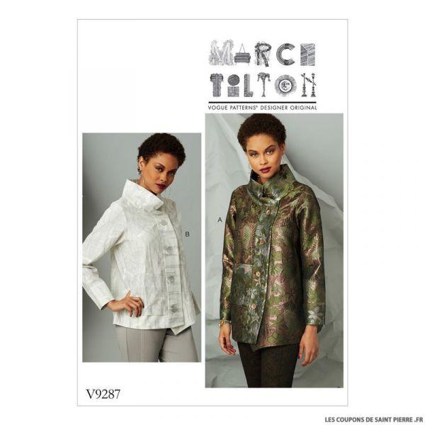 Patron Vogue V9287 : Veste