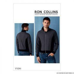 Patron Vogue V9290 : Veste Homme
