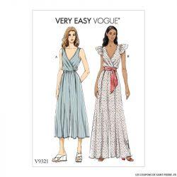 Patron Vogue V9321: Combinaisons