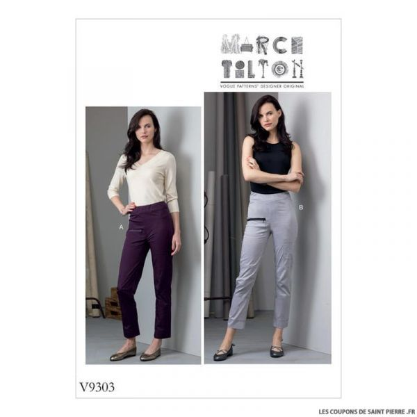 Patron Vogue V9303 : Pantalon sport