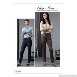 Patron Vogue V9304 : Pantalon maille