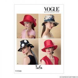 Patron Vogue V9308 : Chapeau