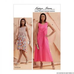 Patron Vogue V9314 : Robe