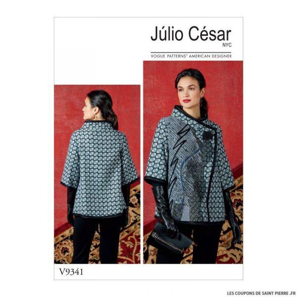 Patron Vogue V9341 : Veste