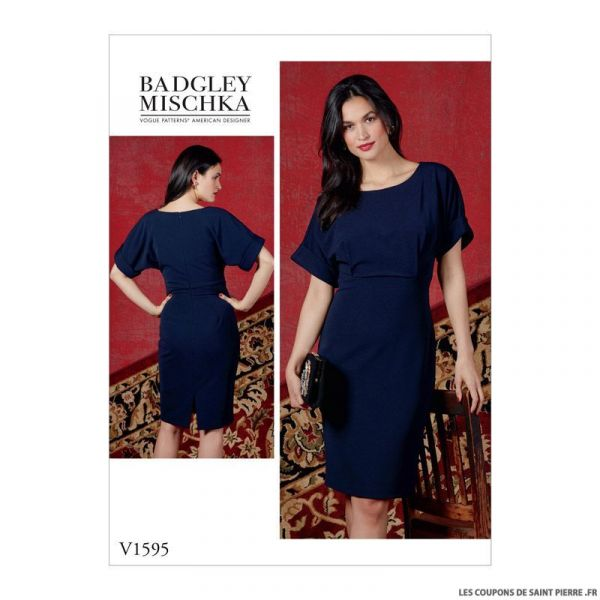 Patron Vogue V1595: Robe