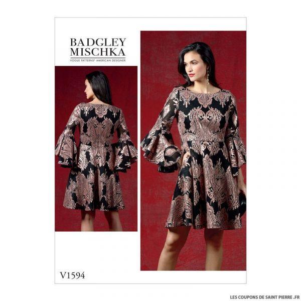 Patron Vogue V1594: Robe