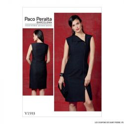 Patron Vogue V1593: Robe