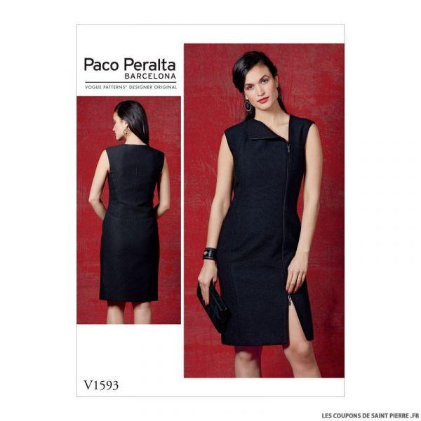 Patron Vogue V1593: Robe