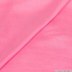 Plongé de soie rose