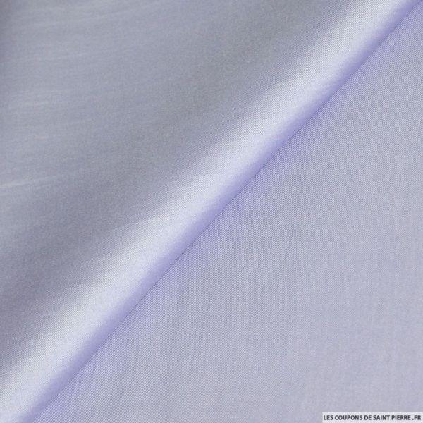 Twill de soie violet