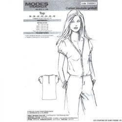 Patron Modes & Travaux  : Top chic