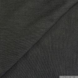 Laine tailleur gris graphique