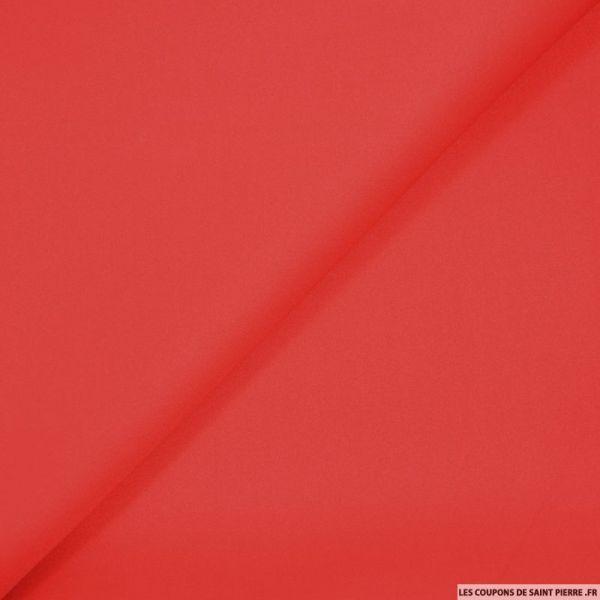 Néoprène polyester rouge