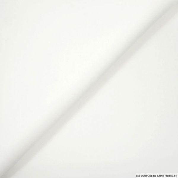 Néoprène polyester blanc