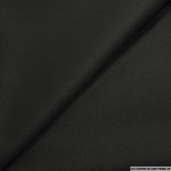 Néoprène polyester noir