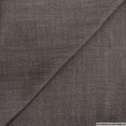 Jean's coton marron foncé