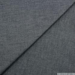 Jean's coton souple gris-bleuté