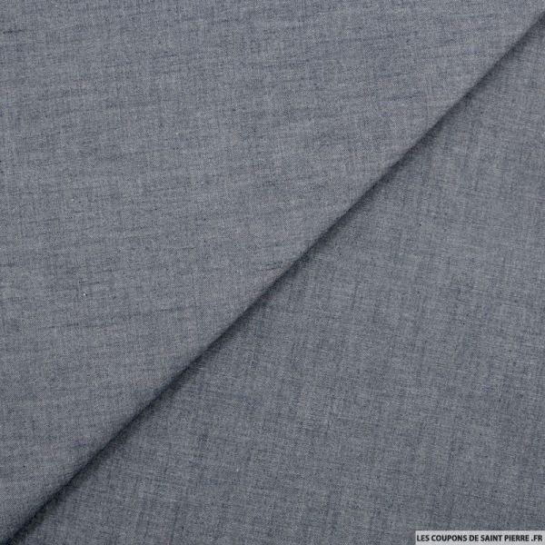 Jean's coton souple bleu