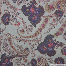 Jean's de coton imprimé Versailles