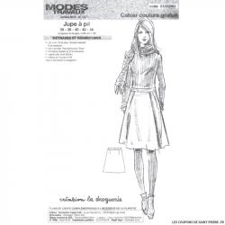 Patron jupe Modes & Travaux - OFFERT
