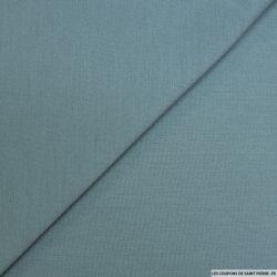 Jersey de laine lourd bleu horizon