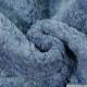 Fausse fourrure mouton bleu jeans