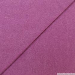 Bourrette de soie teint orchidée