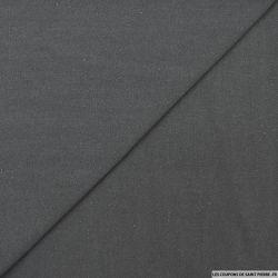 Bourrette de soie teint anthracite