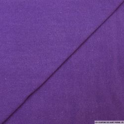 Bourrette de soie teint violet