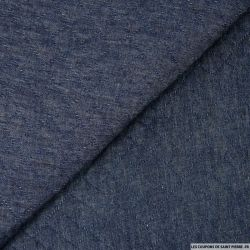 Matelassé polyester marine