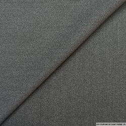 Lainage fin gris chiné