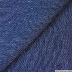 Lin bleu zigzag