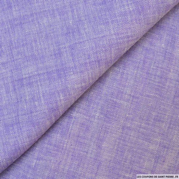 Lin chevron large violet