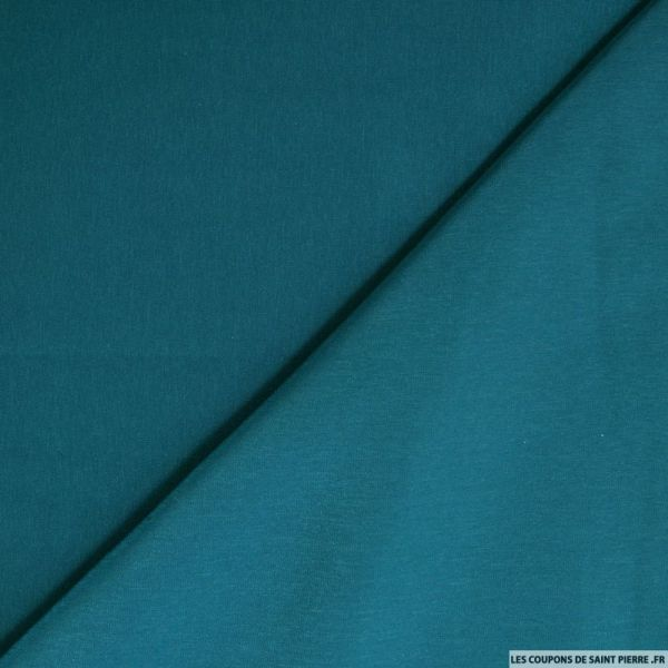 Microfibre polyester bleu canard