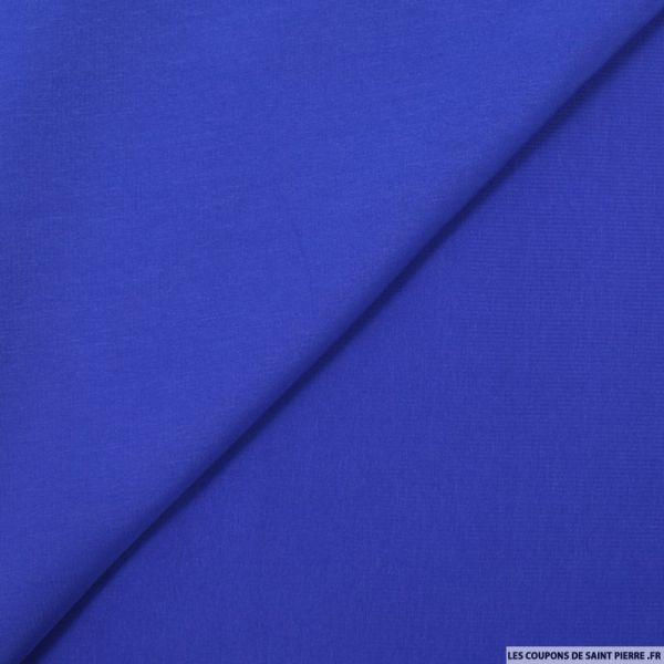 Microfibre polyester bleu roi