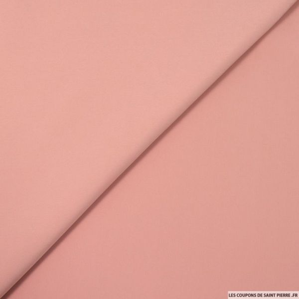 Microfibre polyester vieux rose
