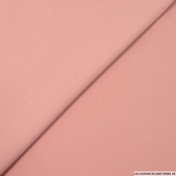 Microfibre polyester vieux rose