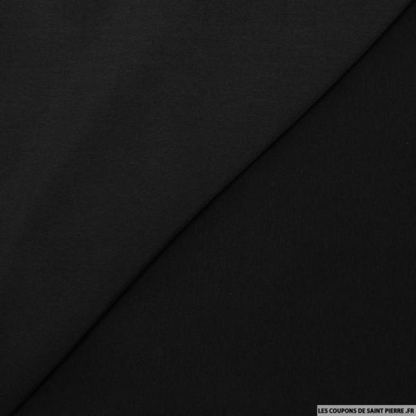 Microfibre polyester noir