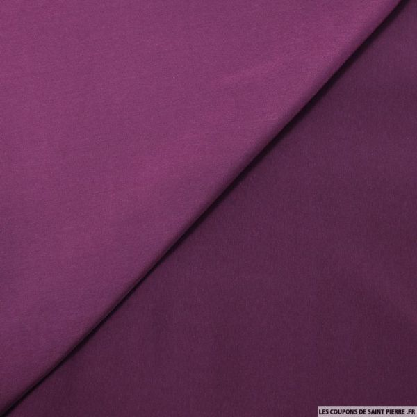 Microfibre polyester violet