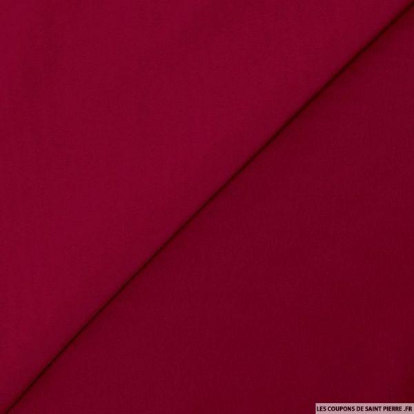 Microfibre polyester lie de vin