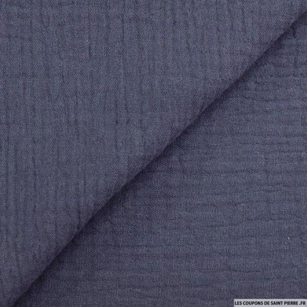 Double gaze bleu minéral