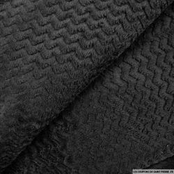 Doudou zigzag noir