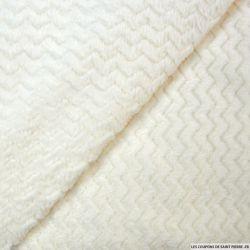 Doudou zigzag ivoire