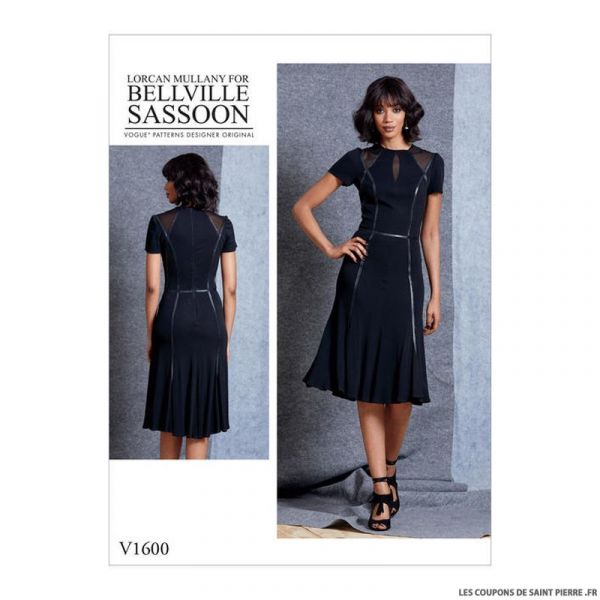 Patron Vogue V1600 : Robe