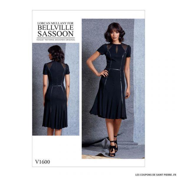 Patron Vogue V1600 : Robe