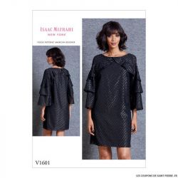 Patron Vogue V1601 : Robe